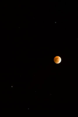 Lunar Eclipse with Saturn